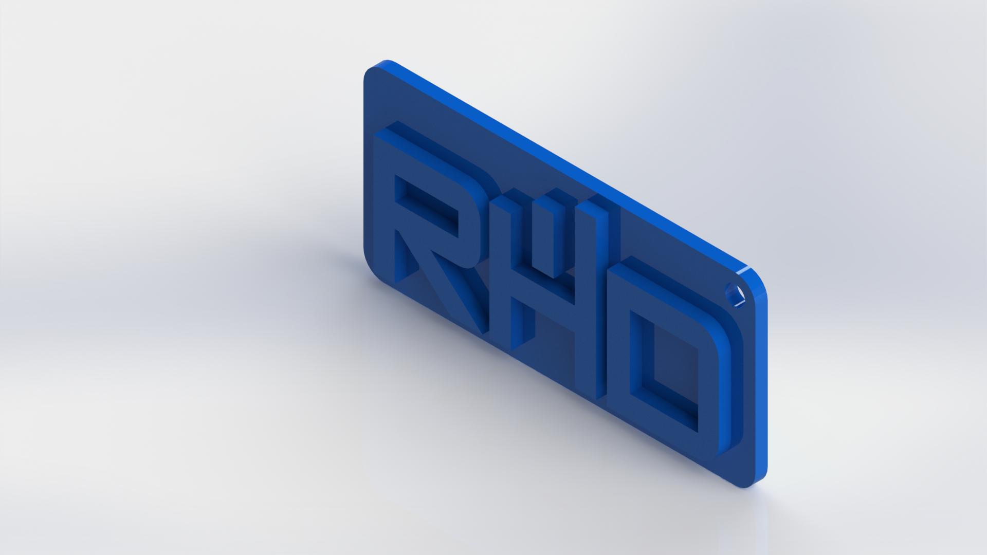 RHD - Alto Relevo - Isométrica